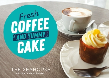 Coffee and Cake £5.00