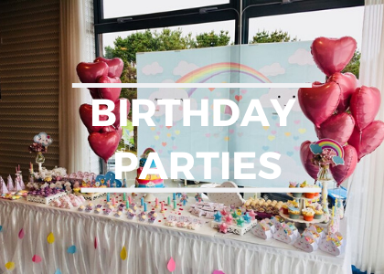 Book your Birthday Party with us today.