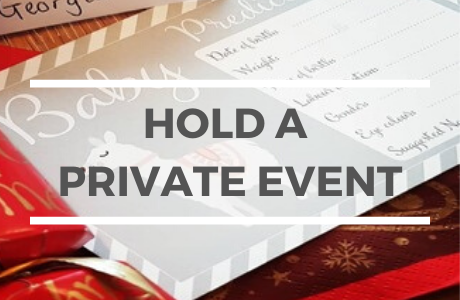 Find out more about holding a private event